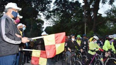 """Photo of सीएम ने """"हील विद व्हील्स"""" बाइकिंग रैली का फ्लैग ऑफ कर शुभारम्भ किया"""
