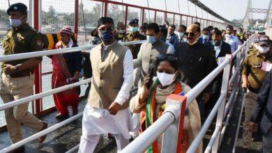 Photo of मुख्यमंत्री ने किया ऋषिकेश में जानकी सेतु का लोकार्पण