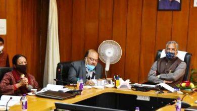 Photo of उत्तराखण्ड ग्राम्य विकास एवं पंचायतीराज संस्थान रूद्रपुर की बोर्ड ऑफ गवनर्स की दसवीं बैठक की अध्यक्षता करते हुए: सीएम
