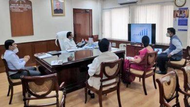 Photo of Sadananda Gowda holds a review meeting of Pradhan Mantri Bhartiya Janaushdhi Pariyojana