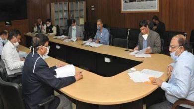 Photo of एकल खिड़की (उद्योग) राज्य प्राधिकृत समिति की बैठक लेते हुएः मुख्य सचिव