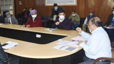 Photo of ईज ऑफ डुईंग बिजनेस के संबंध में बैठक करते हुएः मुख्य सचिव ओमप्रकाश
