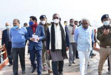 Photo of सीएम जी ने कैबिनेट मंत्री मदन कौशिक और मुख्य सचिव ओमप्रकाश के साथ किया निर्माण कार्यों का स्थलीय निरीक्षण