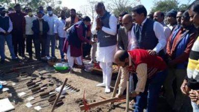 Photo of Culture Minister Shri Prahlad Singh Patel inaugurates two excavation Sites in Jabalpur
