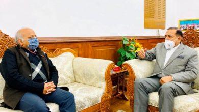 Photo of नव नियुक्त केंद्रीय कार्मिक और प्रशिक्षण विभाग के सचिव, दीपक खांडेकर ने केंद्रीय मंत्री डॉ. जितेंद्र सिंह से मुलाकात की