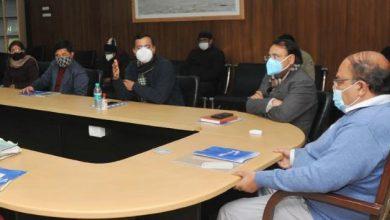 Photo of सचिवालय में कोविड-19 के वैक्सीनेसन की तैयारियों की समीक्षा करते हुए: मुख्य सचिव
