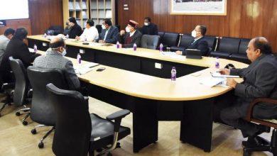 Photo of आवास विकास विभाग से सम्बन्धित केन्द्र पोषित योजनाओं की समीक्षा करते हए: मुख्य सचिव