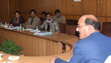 Photo of कृषि एवं कृषक कल्याण विभाग की समीक्षा बैठक लेते हुएः सुबोध उनियाल