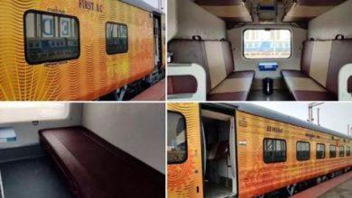 Photo of तेजस स्लीपर टाइप ट्रेनों को चलाने के साथ ज्यादा आराम वाली ट्रेन यात्रा अनुभव के एक नए युग की शुरुआत हो रही है