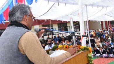 Photo of मुख्यमंत्री श्री त्रिवेन्द्र सिंह रावत ने किया महाविद्यालय के नए भवन का लोकार्पण।