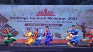 Photo of On the Second Day of the Rashtriya Sanskritik Mahotsav folk artist performed their art