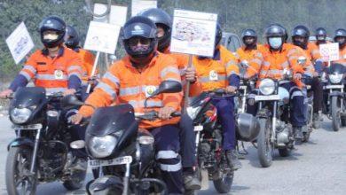 Photo of हिंदुस्तान जिंक, पंतनगर मेटल प्लांट द्वारा रोड शो से सड़क सुरक्षा का संदेश