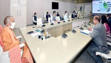 Photo of मुख्यमंत्री के समक्ष नोएडा फिल्म सिटी के सम्बन्ध में प्रस्तुतीकरण किया गया