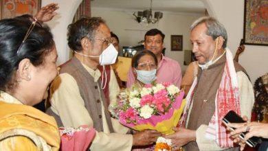 Photo of सीएम तीरथ सिंह रावत ने पूर्व मुख्यमंत्री मेजर जनरल(से.नि.) श्री भुवन चंद्र खंडूडी जी के आवास पर जाकर शिष्टाचार भेंट की