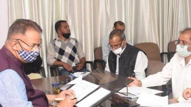Photo of मसूरी विधान सभा क्षेत्र की विभिन्न पेयजल योजनओं की समीक्षा करते हुएः मंत्री गणेश जोशी