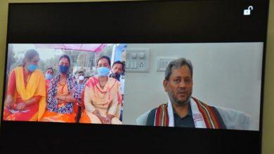 Photo of रात्रि चौपाल में मुख्यमंत्री ने वर्चुअल माध्यम से सुनी आम जन की समस्या।