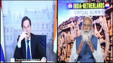 Photo of India-Netherlands Virtual Summit