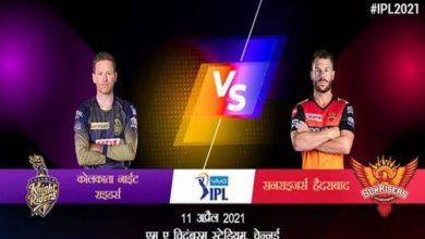Photo of KKR vs SRH: सुपर संडे में आमने-सामने होंगी शाहरुख खान और वॉर्नर की टीम, देखें क्या कहते है आंकड़े