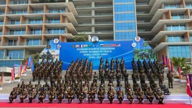 Photo of Opening Ceremony of Multinational Military Exercise SHANTIR OGROSHENA 2021