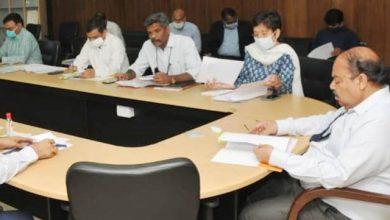 Photo of सचिवालय में सीएम एडवाईजरी ग्रुप की समीक्षा बैठक आयोजित करते हुएः मुख्य सचिव ओमप्रकाश