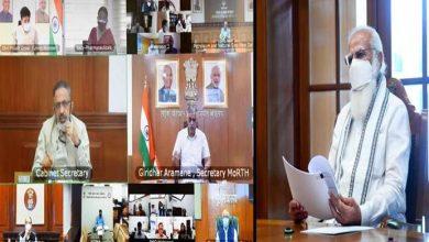 Photo of प्रधानमंत्री ने ऑक्सीजन की आपूर्ति और उपलब्धता पर उच्चस्तरीय बैठक की