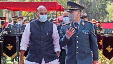 Photo of रक्षामंत्री श्री राजनाथ सिंह ने कजाकिस्तान के रक्षामंत्री लेफ्टिनेंट जनरल नुर्लान यर्मेकबएव के साथ द्विपक्षीय बातचीत की