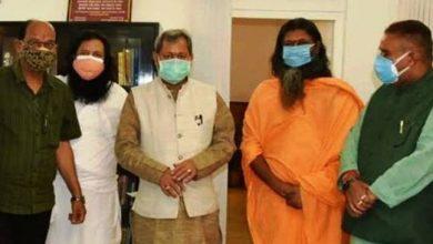Photo of सचिवालय में आर्ट ऑफ लिविंग एवं आई.ए.एच.वी के प्रतिनिधियों ने CM से भेंट की