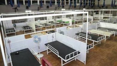 Photo of Mega make-shift COVID centre set up at Kochi Refinery premises