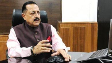 Photo of केंद्रीय मंत्री डॉ. जितेंद्र सिंह ने कश्मीर के टीकाकरण अभियान को 'जन आंदोलन' में तब्दील करने का आह्वान किया