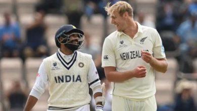 Photo of ICC WTC Final: काइल जैमीसन-डेवन कॉनवे के आगे कमजोर पड़ी कोहली सेना, न्यूजीलैंड ने टीम इंडिया पर कसा शिकंजा