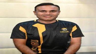 Photo of प्रसिद्ध क्रिकेटर वीरेंद्र सहवाग ने क्रिकेट के लिए भारत का पहला प्रायोगिक शिक्षण एप क्रिकुरू लॉन्च किया