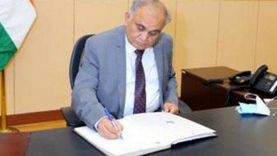 Photo of श्री अनूप चंद्र पांडेय ने नए निर्वाचन आयुक्त के रूप में पदभार संभाला