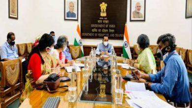 Photo of केंद्रीय मंत्री डॉ. जितेंद्र सिंह ने कहा कोविड महामारी की वर्तमान स्थिति देखते हुए फ्लेक्सी (फ्लेक्सिबल) उपस्थिति विकल्प को 15 जून तक बढ़ा दिया गया है