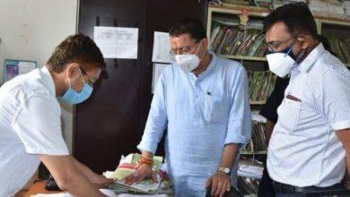 Photo of सचिवालय के विभिन्न अनुभागों का निरीक्षण करते हुएः सीएम