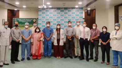 Photo of लायंस क्लब ने डॉक्टर्स डे पर मैक्स हॉस्पिटल के कोविड योद्धाओं को सम्मानित किया