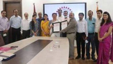Photo of सीएसआईआर-एनआईएससीपीआर ने जे सी बोस विश्वविद्यालय के साथ एसटीआई नीति को बढ़ावा देने के लिए एक  समझौता ज्ञापन पर हस्ताक्षर किए