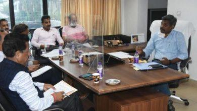 Photo of सभी राजनैतिक दलों के प्रतिनिधियों के साथ बैठक करते हुएः मुख्य निर्वाचन अधिकारी
