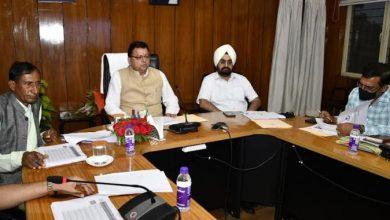 Photo of मुख्यमंत्री ने की पेयजल विभाग की समीक्षा।