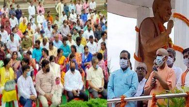 Photo of पं0 दीनदयाल उपाध्याय जी की जयन्ती पर आज हर ब्लॉक में गरीब कल्याण मेले का आयोजन किया जा रहा: मुख्यमंत्री