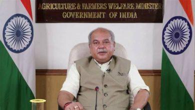 Photo of खाद्य सुरक्षा में कृषि अऩुसंधान का महत्वपूर्ण योगदान: श्री तोमर