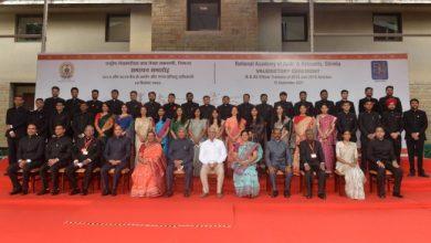 Photo of भारत के राष्ट्रपति 2018 और 2019 बैच के भारतीय लेखा परीक्षा और लेखा सेवा अधिकारी प्रशिक्षुओं के समापन समारोह में शामिल हुए