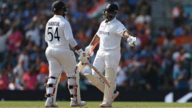 Photo of द ओवल टेस्ट : भारत ने इंग्लैंड को दिया 368 रनों का लक्ष्य