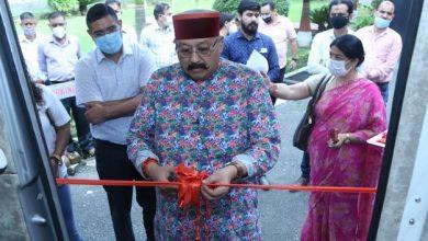 Photo of Tourism Minister Satpal Maharaj inaugrate luxury vehicle 'Caravan'