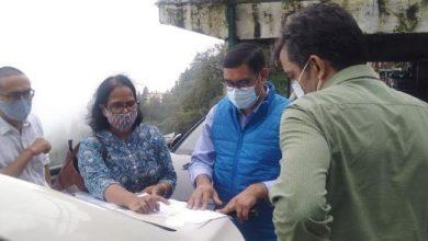 Photo of अपर सचिव पर्यटन के नेतृत्व में पर्यटन व अन्य विभाग के अधिकारियों ने किया स्थलीय निरीक्षण