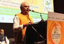 Photo of केंद्रीय कृषि मंत्री नरेंद्र सिंह तोमर ने कहा, कुपोषण से लड़ने के लिए बाजरा को दैनिक खुराक में शामिल करना होगा
