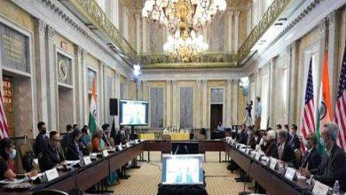 Photo of भारत-अमेरिका आर्थिक एवं वित्तीय भागीदारी वार्ता की 8वीं मंत्रिस्तरीय बैठक वाशिंगटन डी.सी. में आयोजित