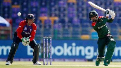 Photo of T20 World Cup: इंग्लैंड ने बांग्लादेश को 8 विकेट से हराया