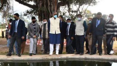 Photo of सीएम त्रिवेन्द्र सिंह रावत ने थानों में बनाये जा रहे ईको पार्क का निरीक्षण किया