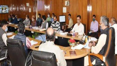 Photo of जल जीवन मिशन की समीक्षा के दौरान अधिकारियों को निर्देश देते हुएः सीएम