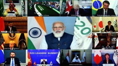 Photo of जी-20 सम्मेलन में प्रधानमंत्री के सम्बोधन के अंश: पृथ्वी का संरक्षण: सीसीई पर कायम